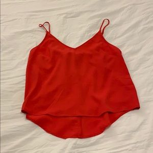 Red tank from forever 21